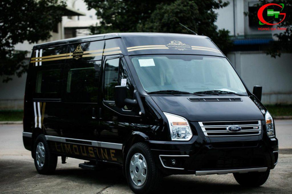 bảng giá cho thuê xe ford transit limouisne dcar