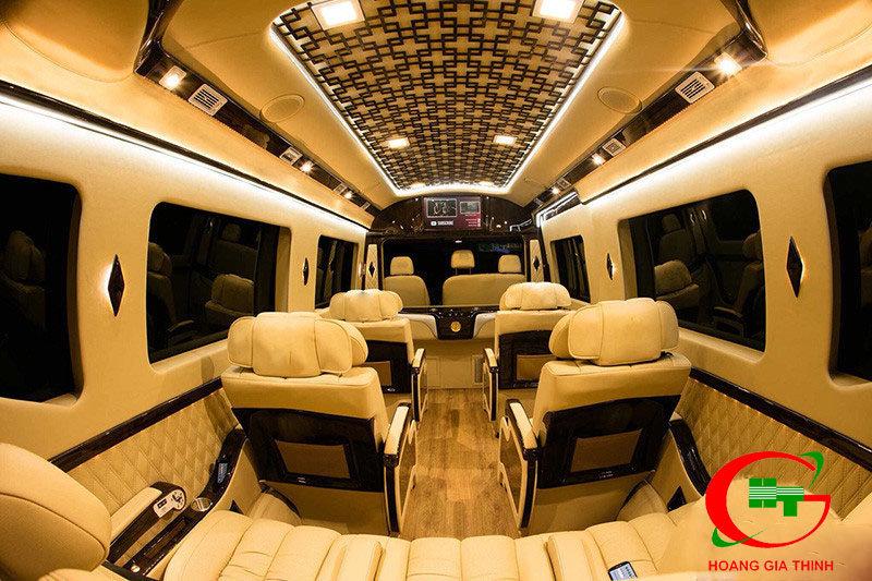 Cho Thuê Xe Limousine 9 Chỗ Giá Rẻ Tại Bình Dương
