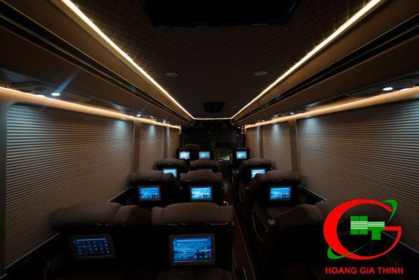 Cho Thuê Xe 17 Chỗ Limousine Thaco 2019 - Hoàng Gia Thịnh