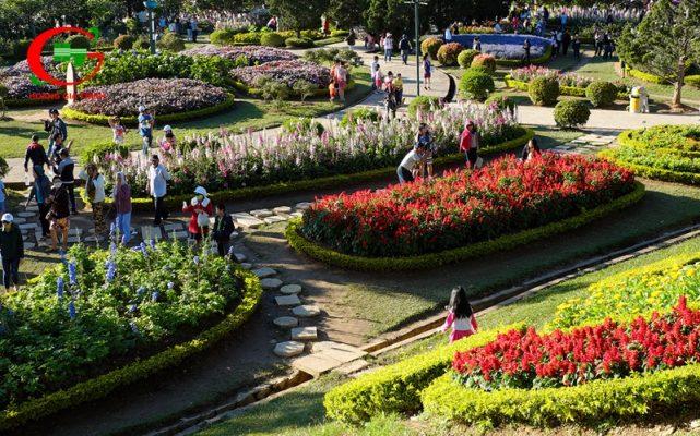 Du lịch Đà Lạt tháng 12 Festival hoa Đà Lạt