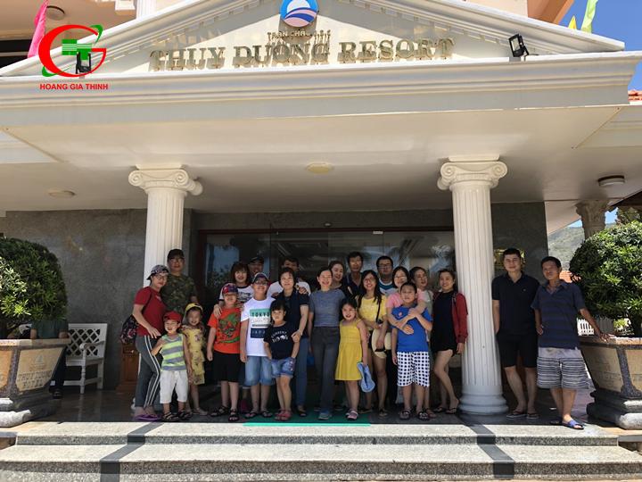 Thuê xe du lịch đi Thùy Dương Resort