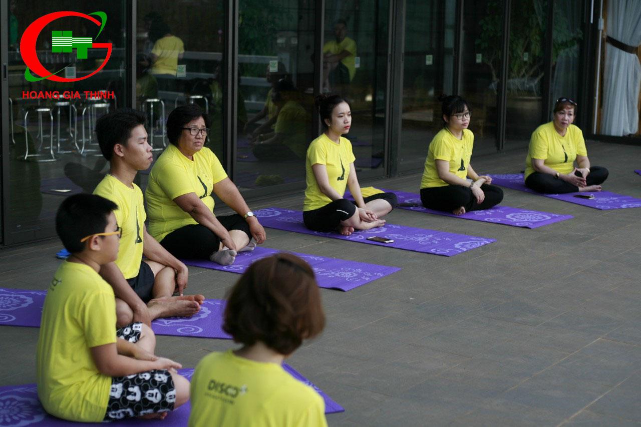 Tour Du Lịch YOGA Ở Lâm Hà Đoàn Khách Công Ty Phan Vũ